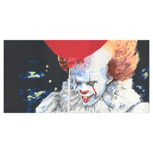 Pennywise Stephen King Limited Edition Framed Print (20 x 10 inches)