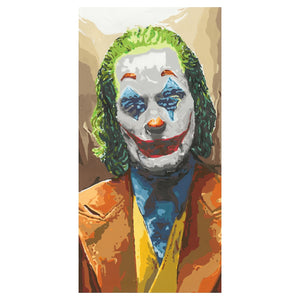 The Joker Batman Limited Edition Framed Print (10 x 20 inches)