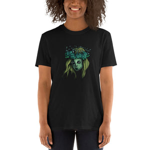 Green Mythical Siren Short-Sleeve Unisex T-Shirt