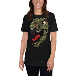 Crazy Dinosaur Scary Unisex T-Shirt