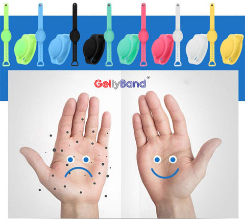 GellyBand Helps to prevent the spread of viruses, and germs.