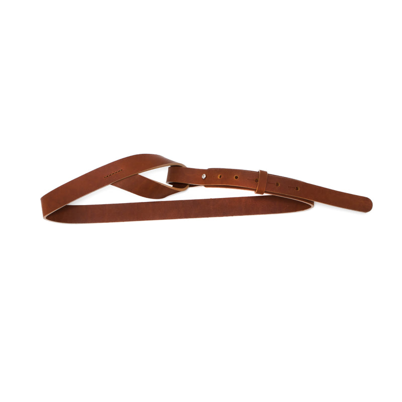 BABILA - tan leather belt