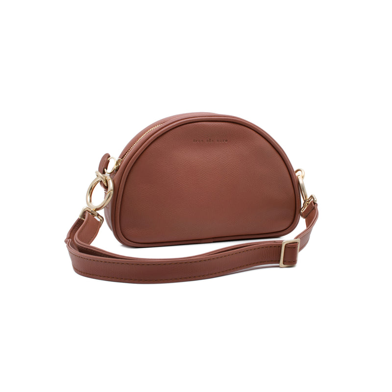 LULU - redwood small shoulder bag or belt bag