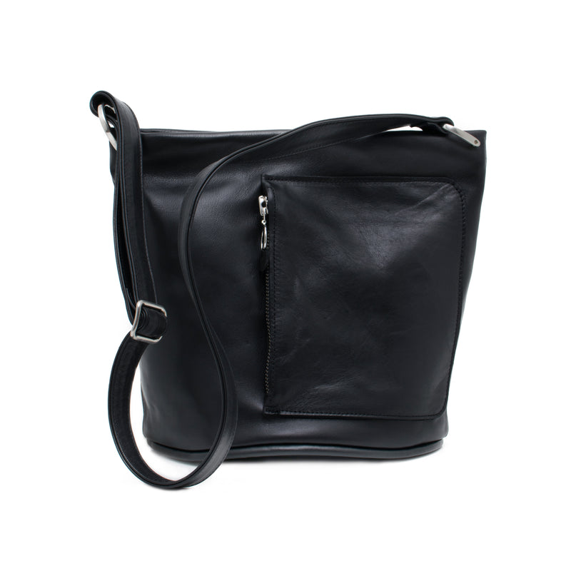 SYBILLA -  black bucket bag