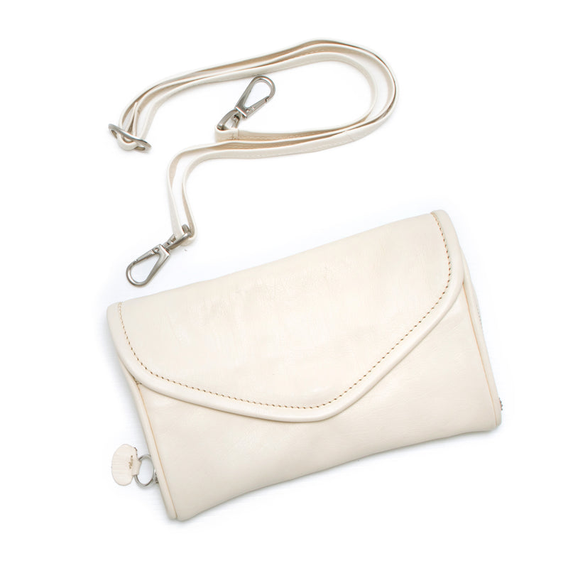 PETRA - milk wallet bag