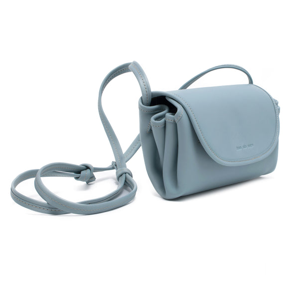 CANDY - powder blue pouch shoulder or cross body bag