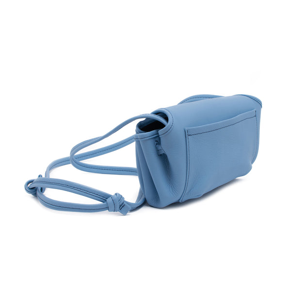 CANDY - sky blue pouch shoulder or cross body bag