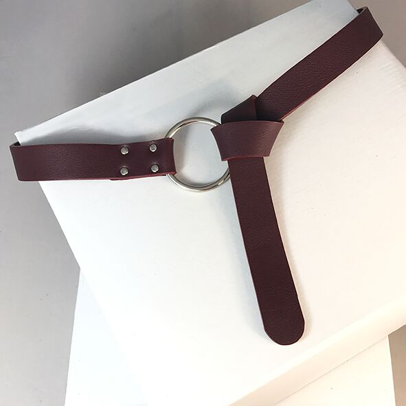 floro wine sustainable leather belt