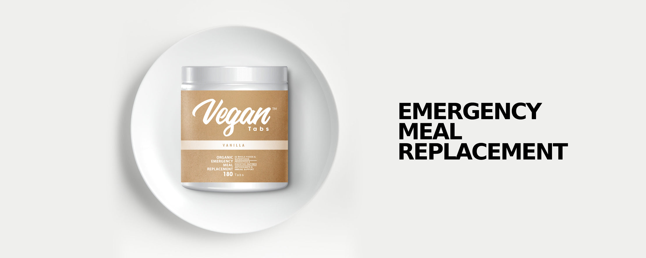 Vegantabs - the survival / emergency meal replacement