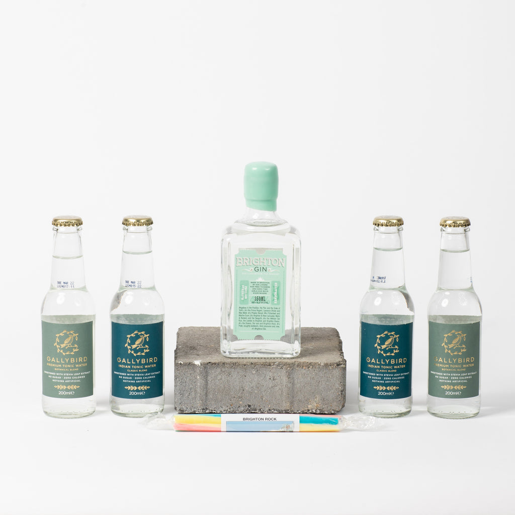 Gin It To Win It | Gin Gift Box - Brighton In A Box