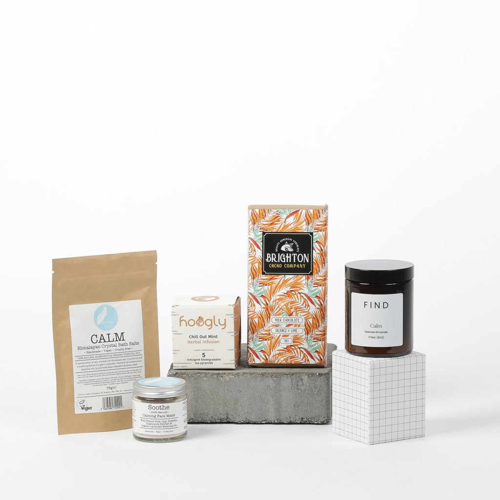 Treat Yourself | Pamper & Self-Care Gift Box - Brighton In A Box