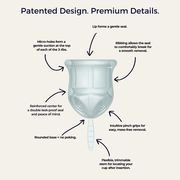 most comfortable menstrual cup easy to use