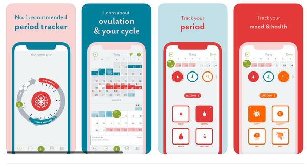 Period Tracker App Track Ovulation and Menstrual Cycle Photo