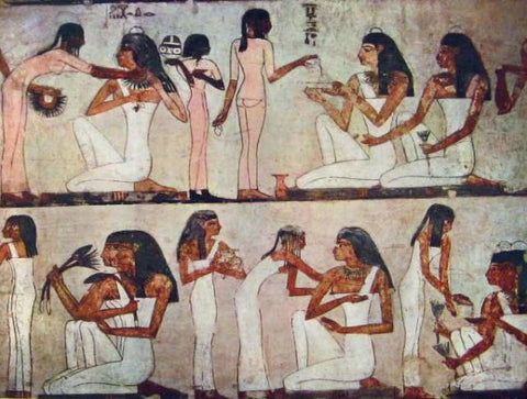 Ancient Egyptian Tampons Papyrus