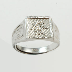Platinum Men Wealth Ring 14.1 Grams