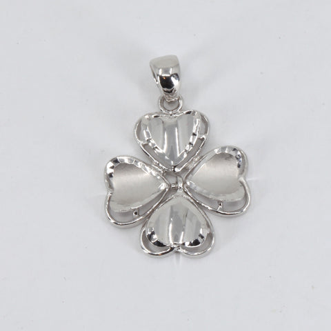 Platinum Leaves Pendant 2.8 Grams