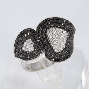 18K White Gold Diamond Women Ring D1.68CT