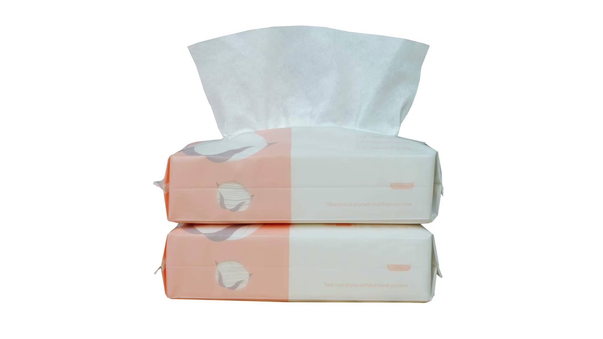 Soft Cotton Facial Wipe (2 Pack/200pcs)