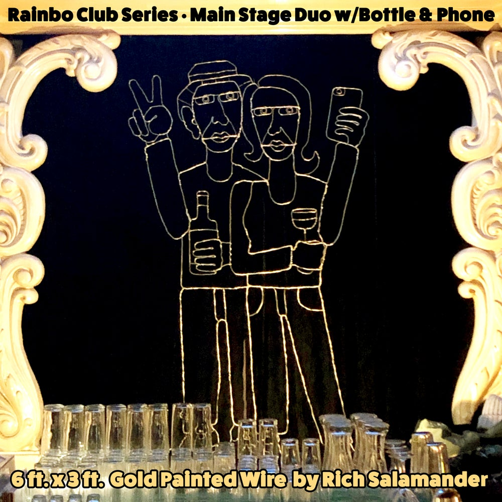 Rainbow Main Stage Duo w/Bottle & Phone