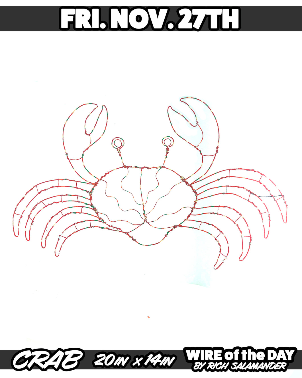 WIRE of the DAY CRAB