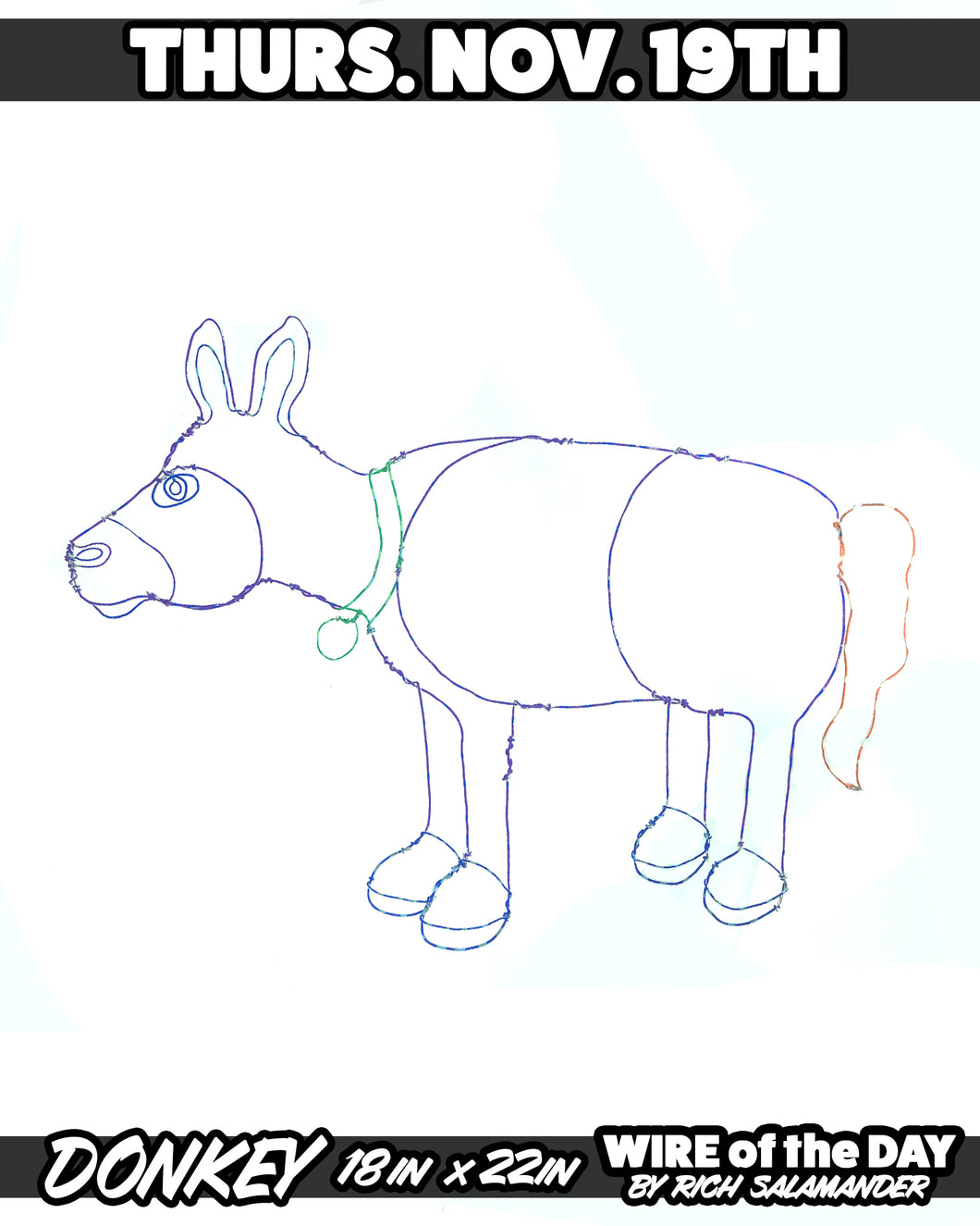 WIRE of the DAY DONKEY