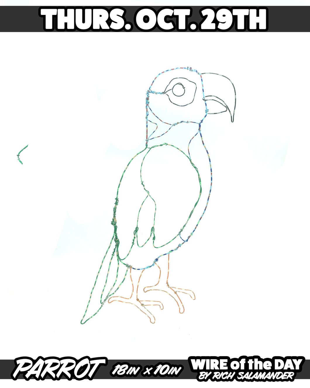 WIRE of the DAY PARROT