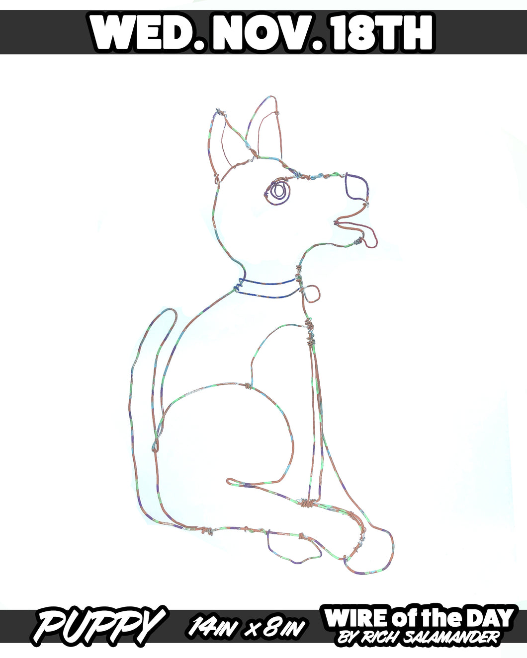 WIRE of the DAY PUPPY