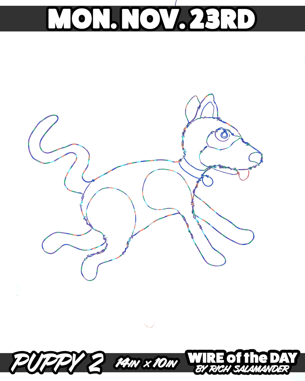 WIRE of the DAY PUPPY 2