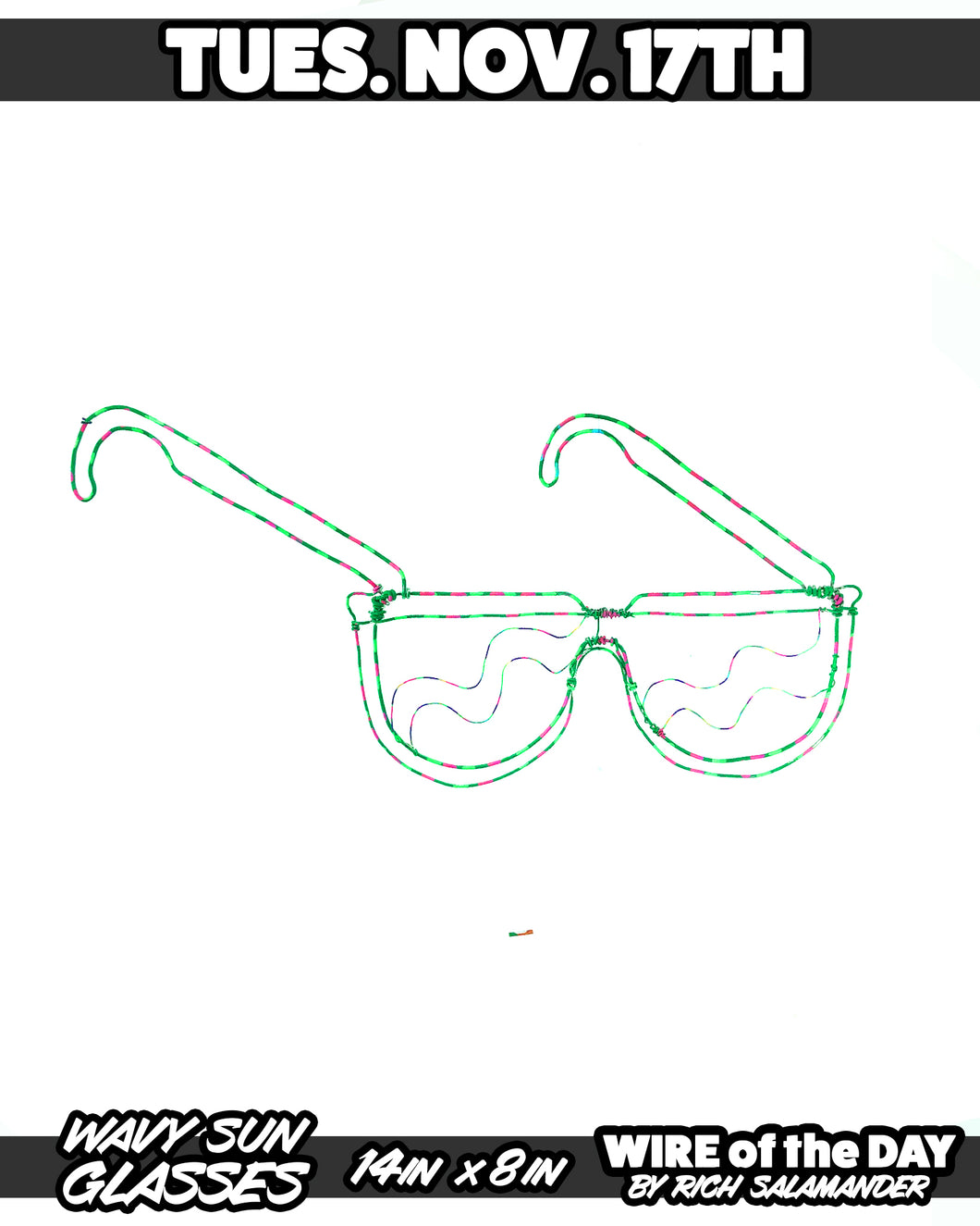 WIRE of the DAY WAVY SUN GLASSES