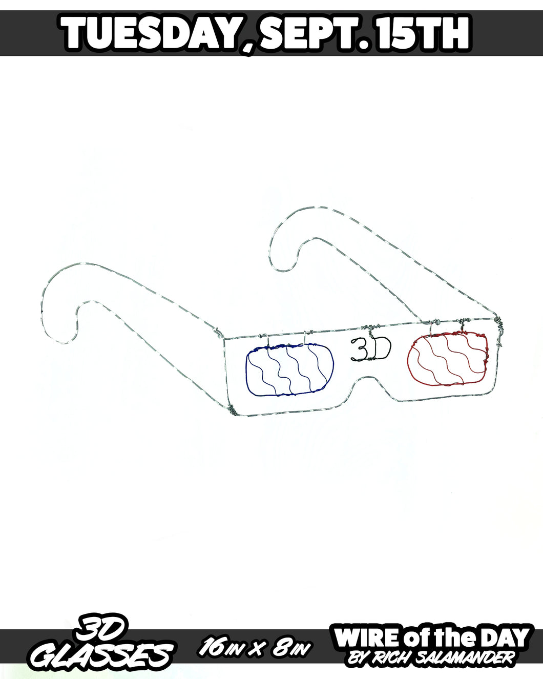 WIRE of the DAY 3D GLASSES