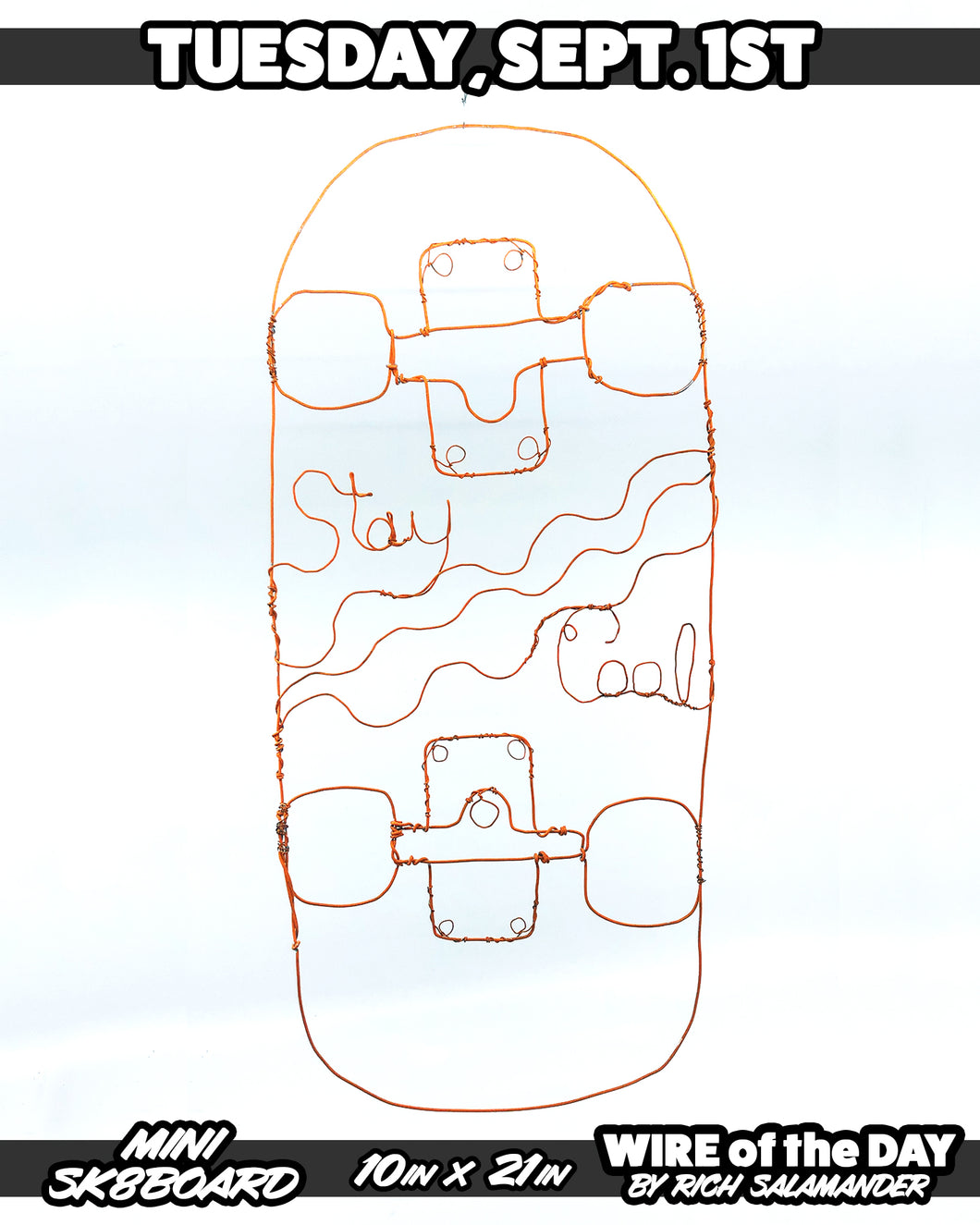WIRE of the DAY MINI SK8BOARD