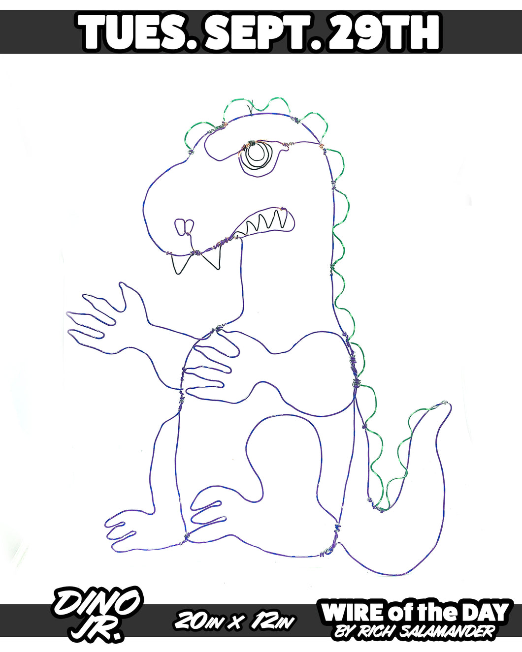 WIRE of the DAY DINO JR.
