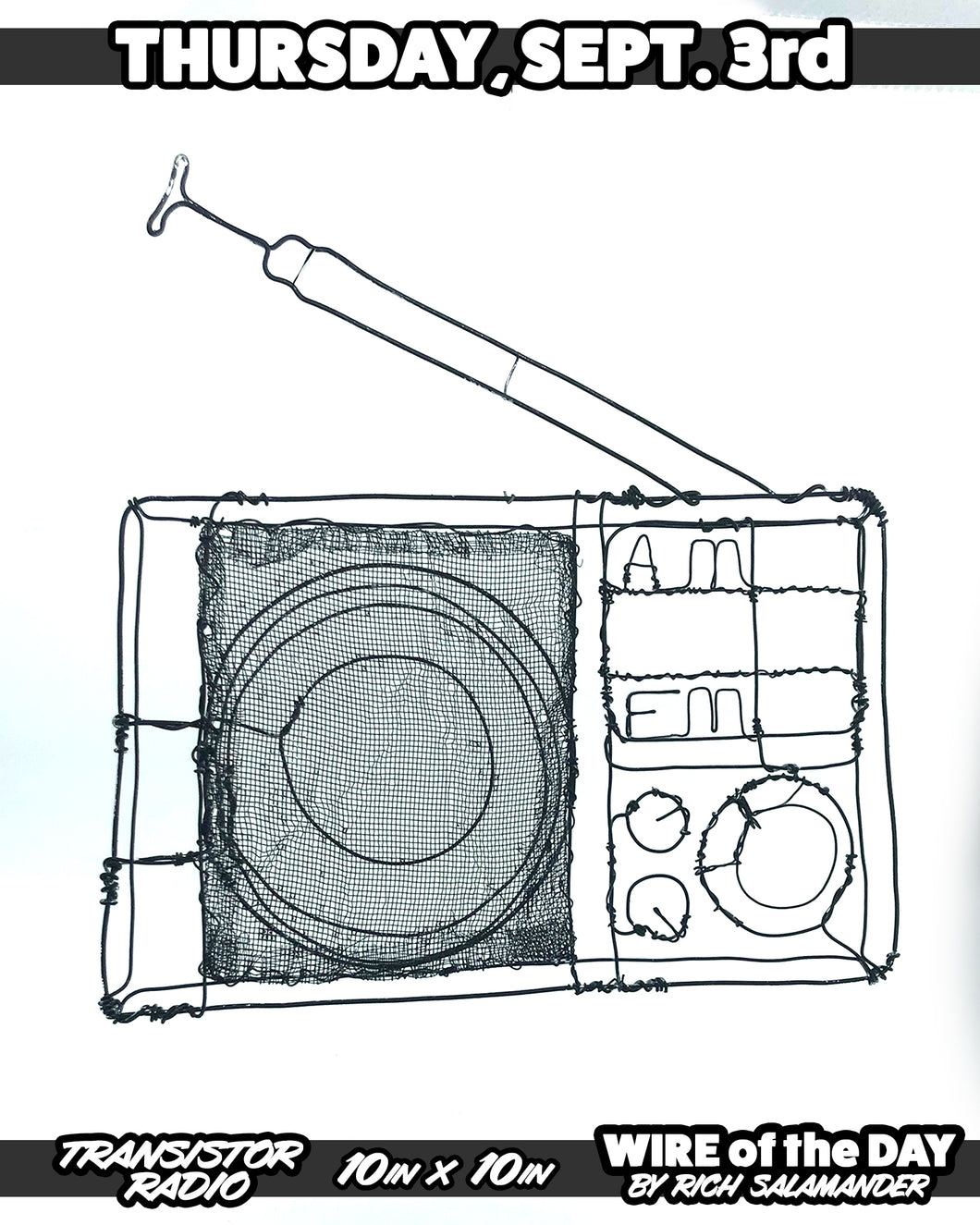 WIRE of the DAY TRANSISTOR RADIO