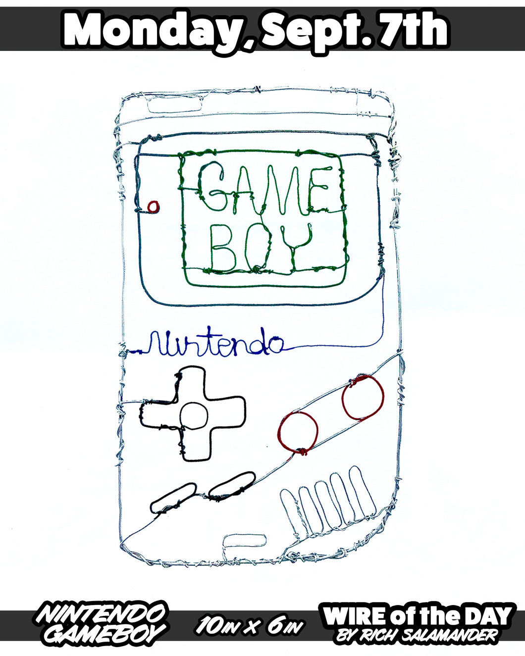 WIRE of the DAY NINTENDO GAMEBOY