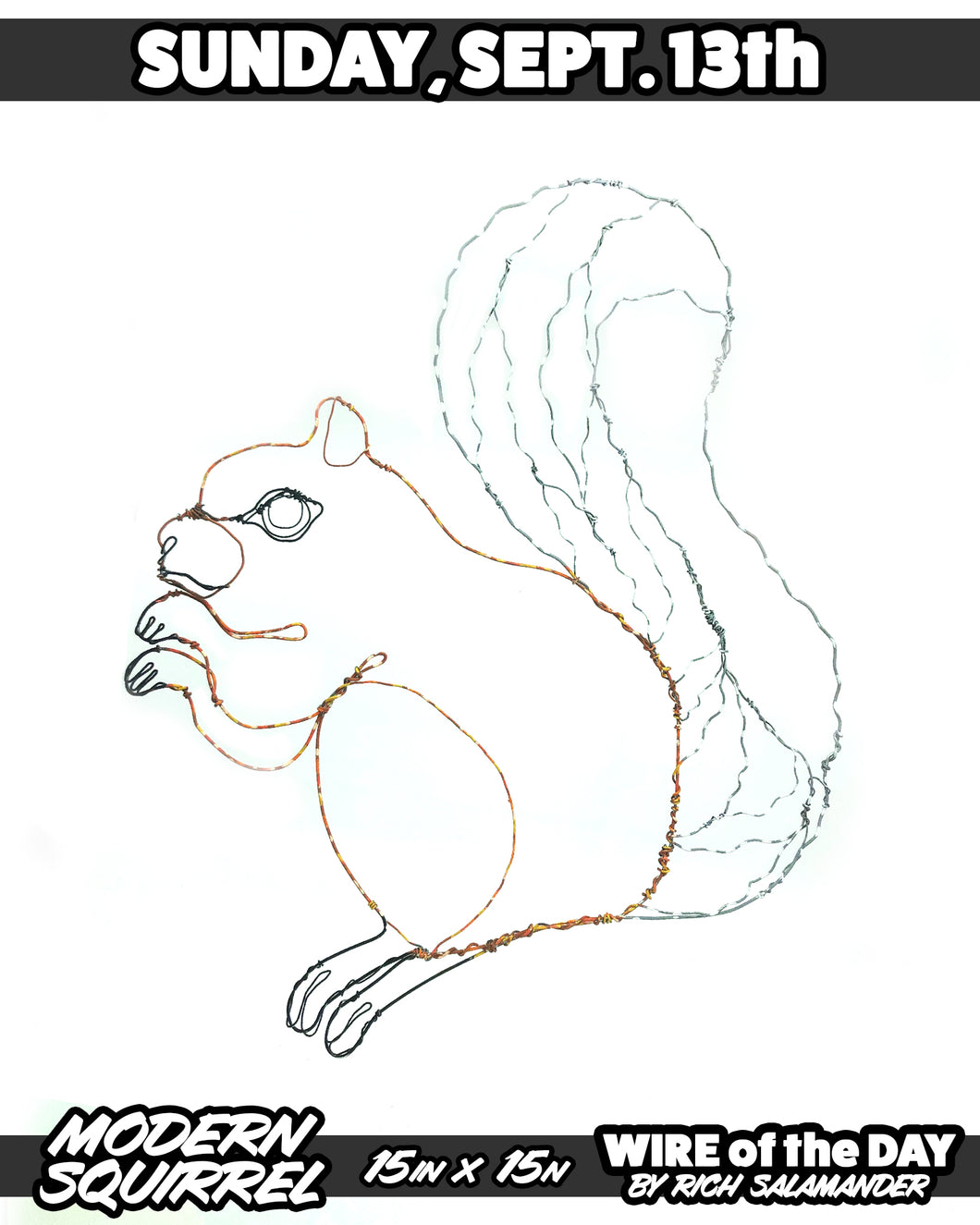 WIRE of the DAY MODERN SQUIRREL