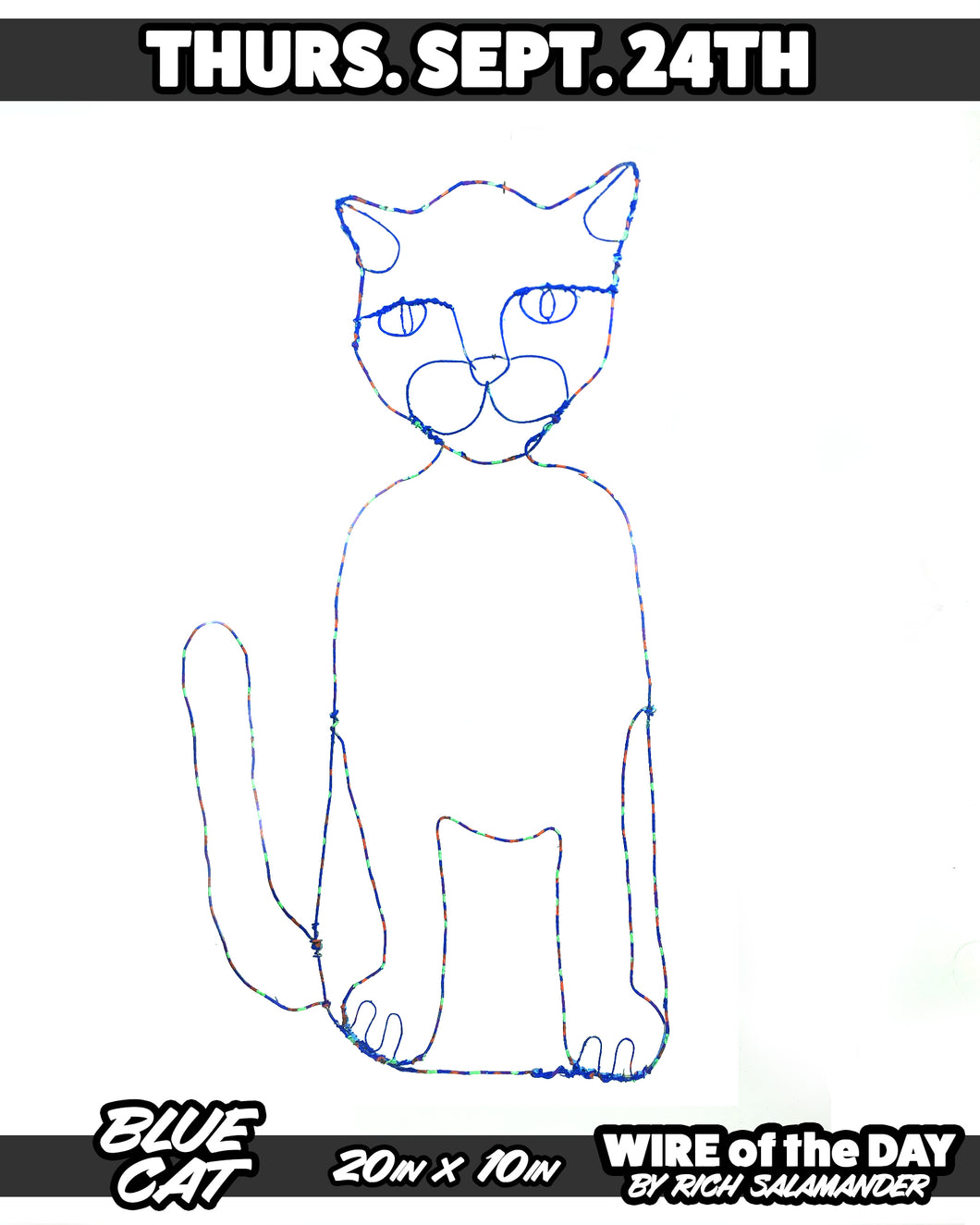 WIRE of the DAY BLUE CAT