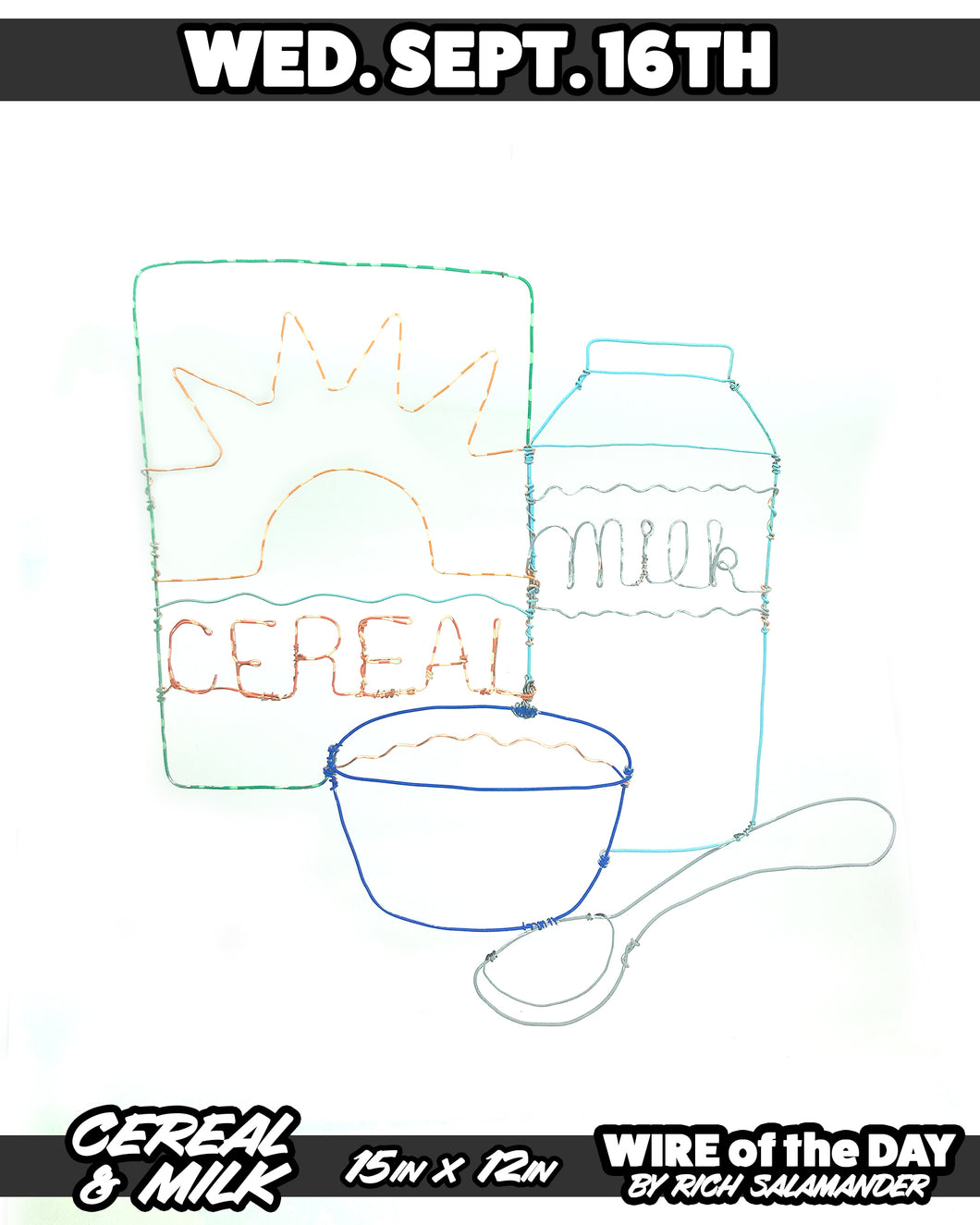 WIRE of the DAY CEREAL & MILK