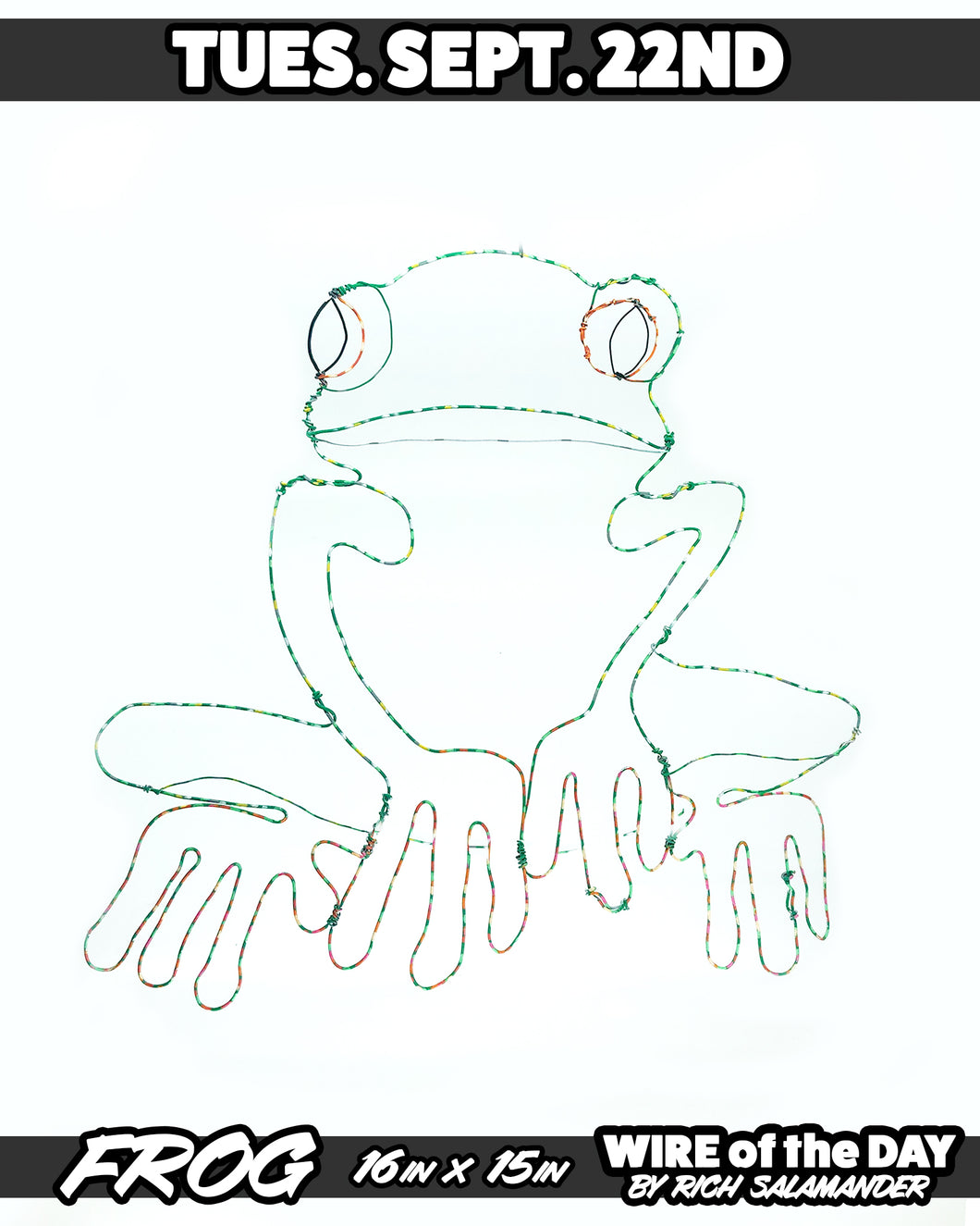 WIRE of the DAY FROG