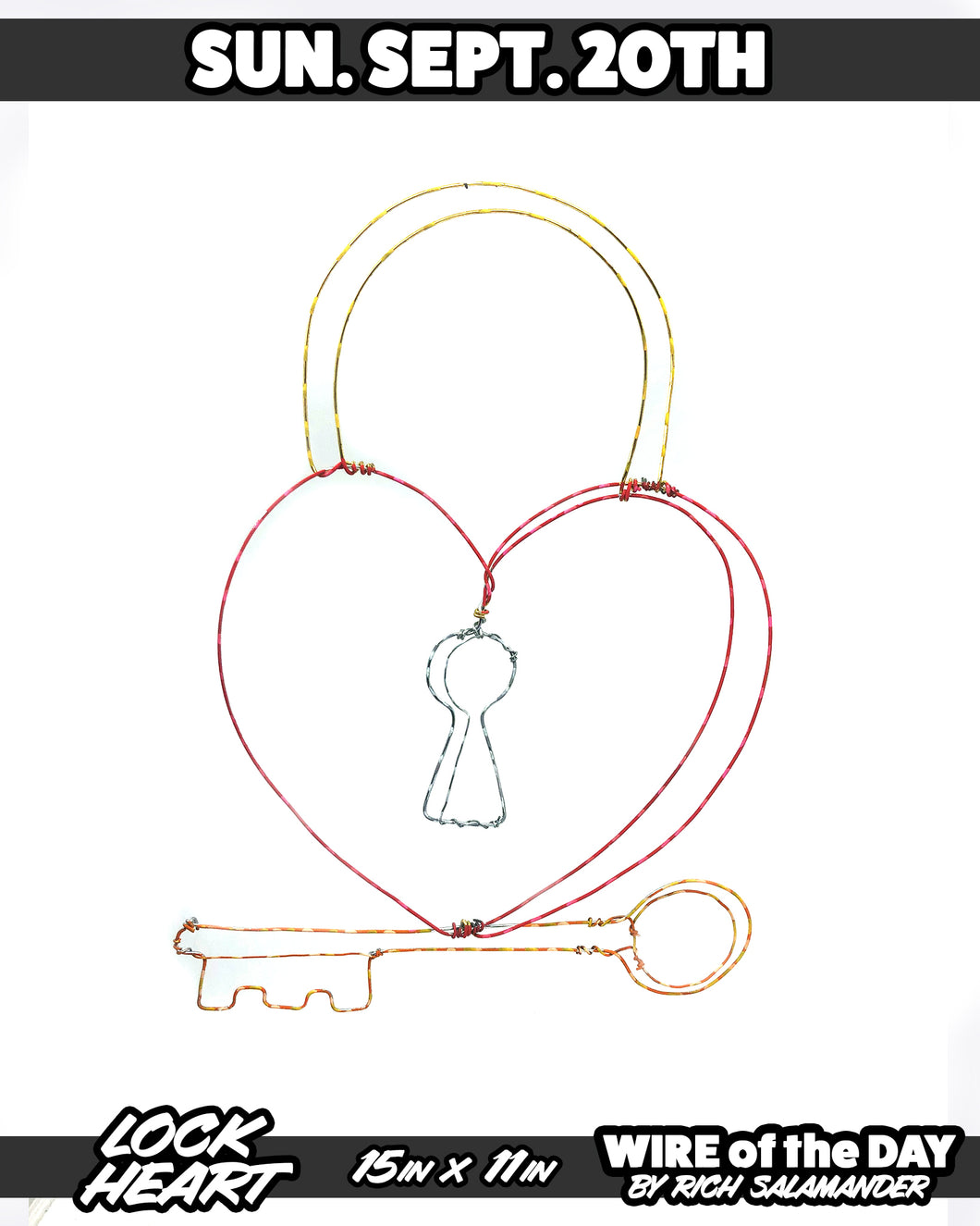 WIRE of the DAY LOCK HEART