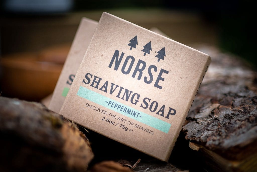 Norse - Peppermint Shaving Soap, 75g