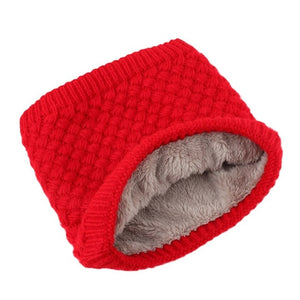 Winter Warm Brushed Knit Neck Warmer for women