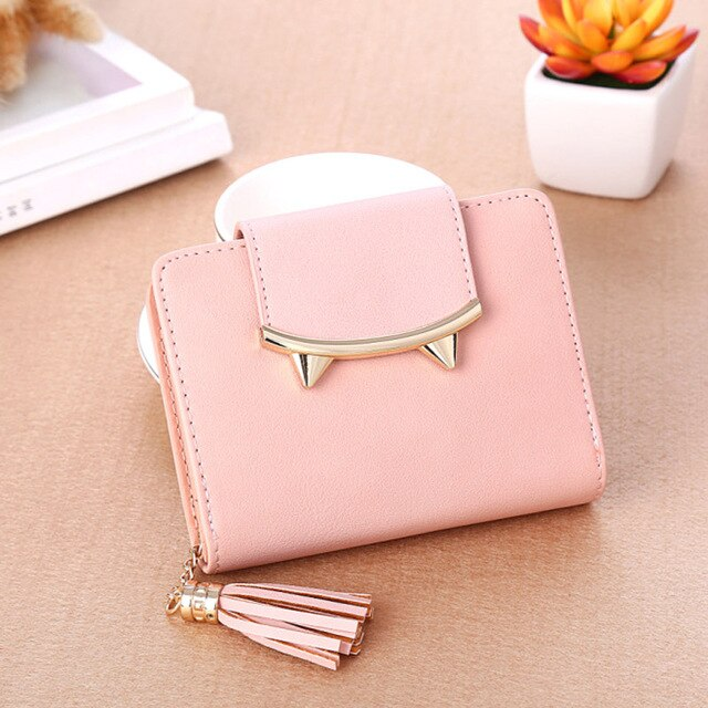 Small Cute Cat For Lady Women Wallet