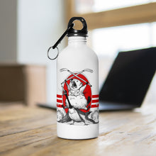 Load image into Gallery viewer, Stainless Steel Screaming Beaver Sports Bottle