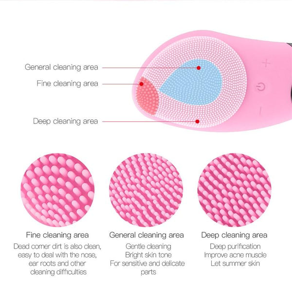 Mini Electric Facial Cleansing Brush - All4utoday