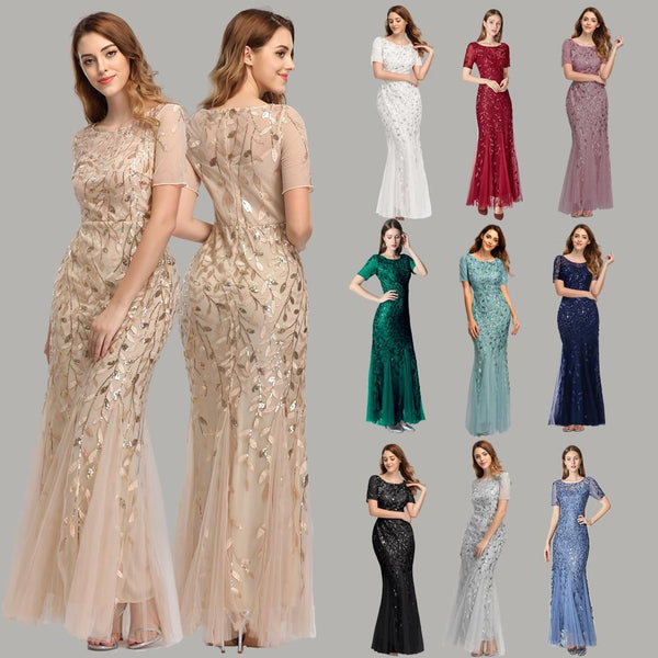 Plus Size Evening Mermaid Dresses - All4utoday