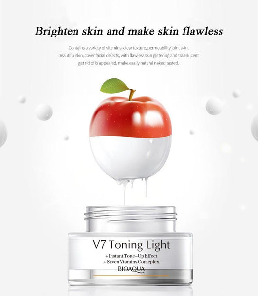 Toning And Vitamins Rich Whitening Cream - All4utoday