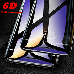 6D Full Cover Tempered Glass For iPhones