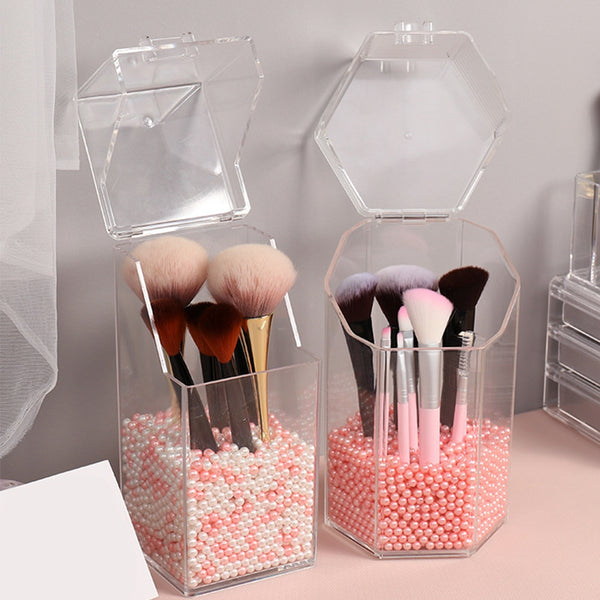 Organizer Makeup Brush Container