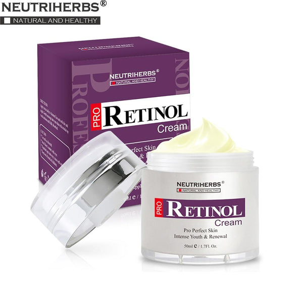 Moisturiser Face Cream Hyaluronic Acid Vitamin E Collagen 2.5% Retinol - All4utoday