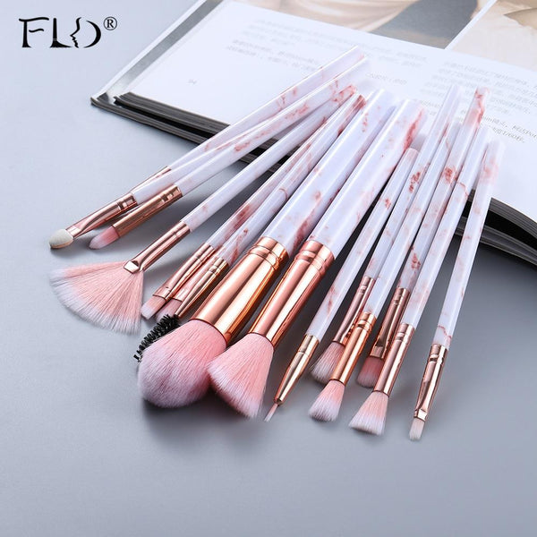 15Pcs Makeup Brushes Tool Set - All4utoday